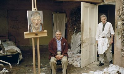 Lucian Freud's portrait of David Hockney set to sell for millions