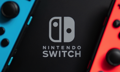 A close-up, mysterious photo of the Switch.