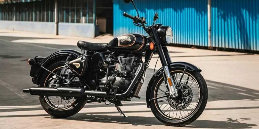Royal Enfield Classic 500 Tribute Black Edition