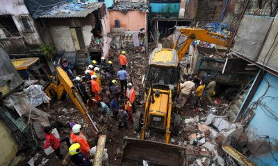 Rescuers search for survivors after Mumbai building collapse kills 11