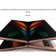 """A banner stating that the """"Galaxy fold is no longer available"""""""