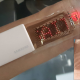 Samsung's stretchable OLED display prototype being used as a heart rate monitor