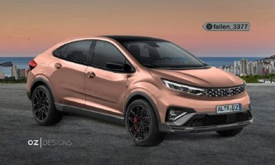 Tata Altroz Cross Coupe Rendering_