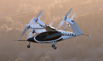 Joby Aviation's electric air taxi.