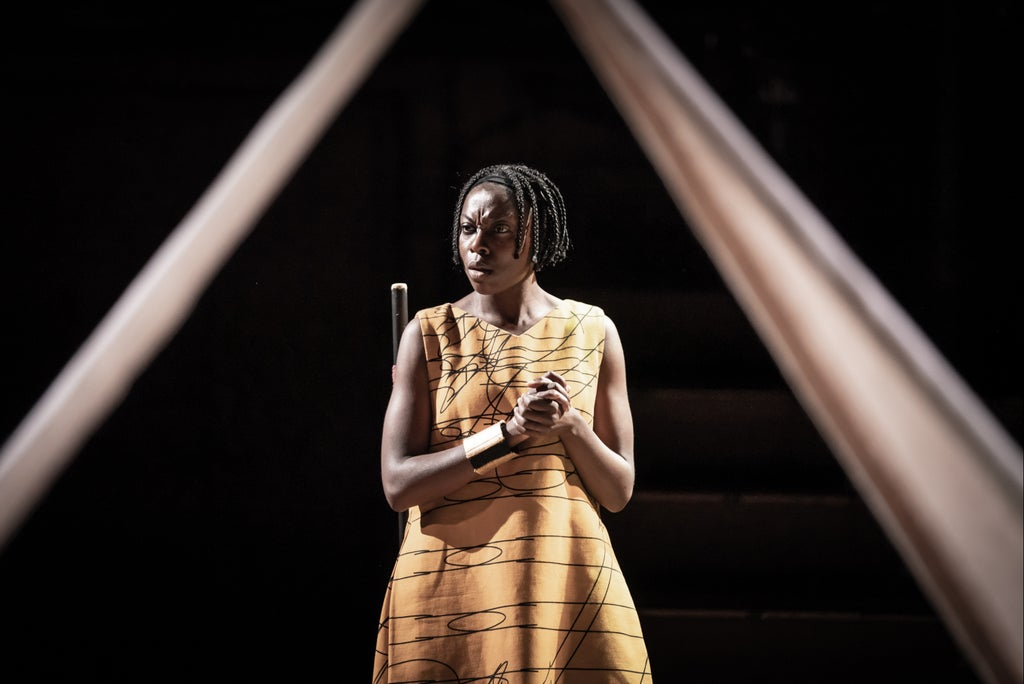 Changing Destiny at Young Vic: theatre stripped back but too skimpy