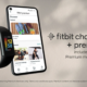 A photo of the Fitbit Charge 5 plus 6 months of Fitbit Premium.