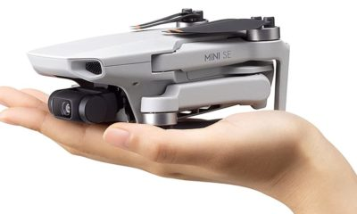 A drone that fits in the palm of the hand.