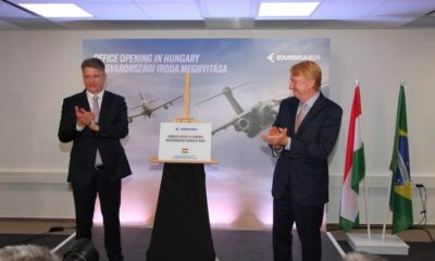 Embraer expands Europe operations with Hungary office