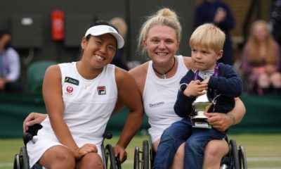 Gold tennis hopeful wants to show son she's 'not just mum'