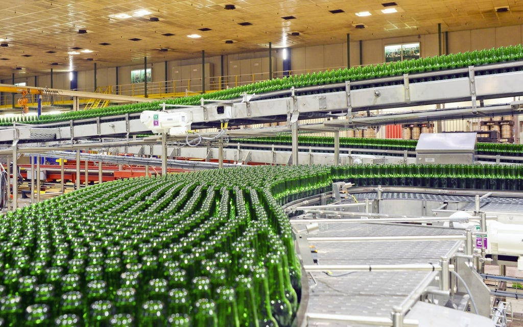 Heineken sees profits rise but warns over soaring commodity costs