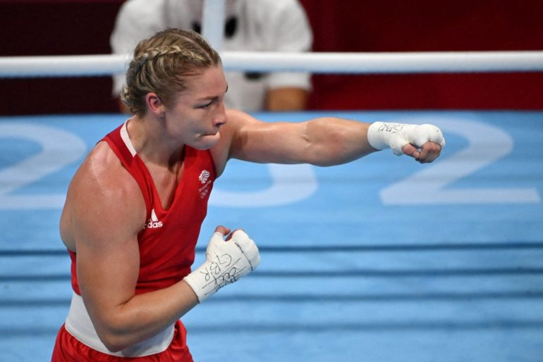 Lauren Price through to Olympic final after stunning comeback win