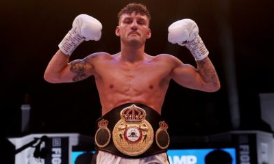 Leigh Wood stuns Xu Can to win WBA featherweight world title in Brentford