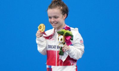 Maisie Summers-Newton claims second Tokyo gold in 100m breaststroke