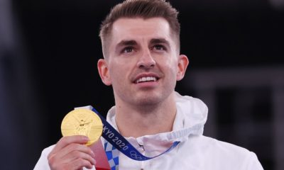 Max Whitlock wins gold on pommel horse to retain Olympic title in another Team GB gymnastic medal