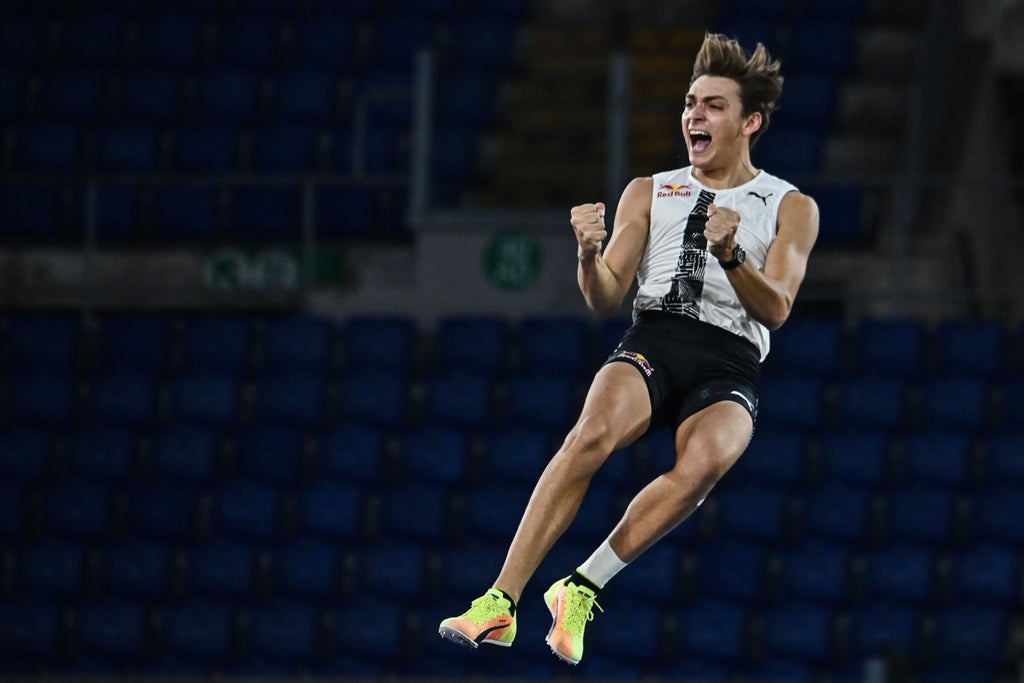 Mondo Duplantis interview: 'I can't be Usain Bolt but can be the best pole vaulter who ever lived'