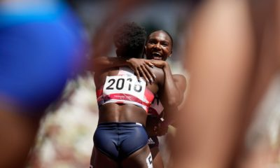 Olympics: Dina Asher-Smith smashes relay record in stunning comeback