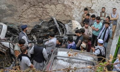 Ten members of one family killed after Kabul drone, say relatives
