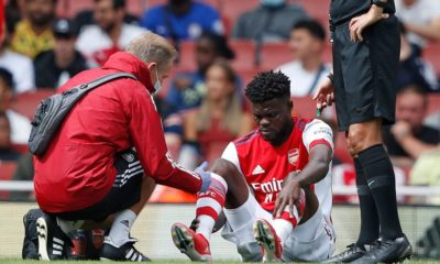 Thomas Partey requires scan on