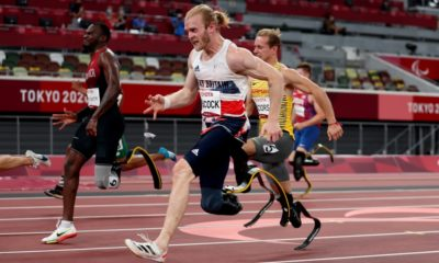 Tokyo Paralympics: Jonnie Peacock loses 100m title but wins bronze in dead heat