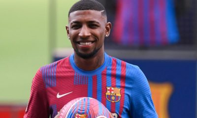 Tottenham sign Emerson Royal in £25.7million deal from Barcelona