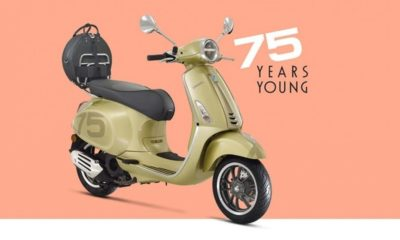 Vespa 75th launched in India