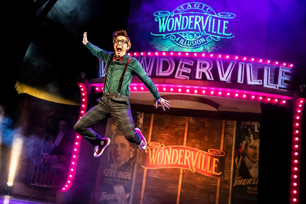 Wonderville at Palace Theatre: Magic show veers from WOW to so-so