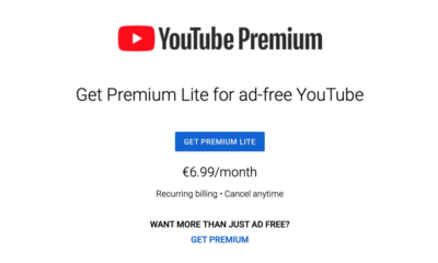 """YouTube Tests """"Premium Lite"""" Subscription for Cheaper Ad-Free Viewing"""