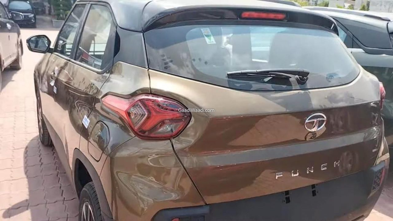 Tata Punch Spied-3
