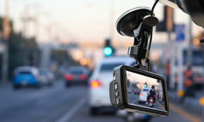Dash cam camera for safety on the road accident