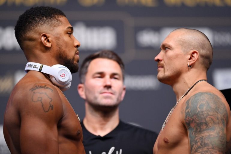 Joshua vs Usyk: Fight time, undercard, prediction, betting odds