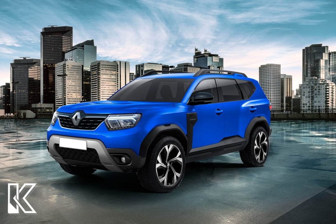Dacia Bigster Renault Duster 7-seater rendering front