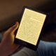 The all-new Kindle Paperwhite running in reduced eye-strain mode.