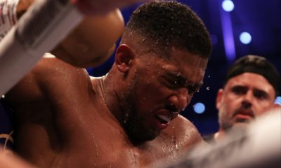 Anthony Joshua reacts to Oleksandr Usyk loss: 'Keep positive even if the world's crumbling in front of you'