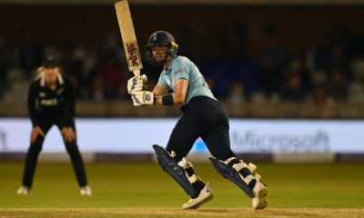 Heather Knight century guides England to record chase and series-sealing win over New Zealand