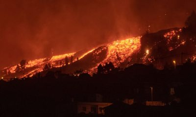 Thousands evacuated after Canary Islands volcano erupts