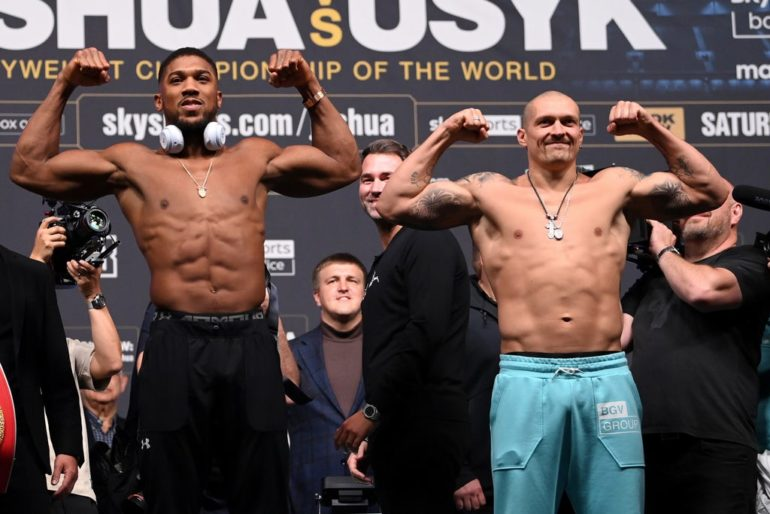Joshua vs Usyk: What time is fight, undercard, latest odds, prediction and ring walks tonight