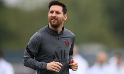 Lionel Messi set for PSG return against Man City after knee injury: 'He is in a very good way'