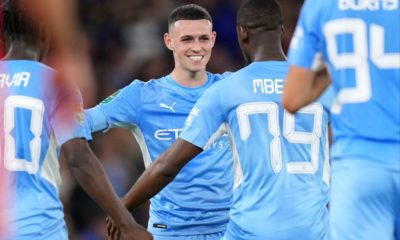 Man City 6-1 Wycombe: Holders survive early scare to keep quest for fifth-straight Carabao Cup on track