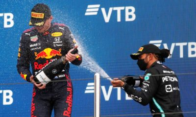 Max Verstappen's Russian GP second place 'like a victory' as Lewis Hamilton wins 100th race