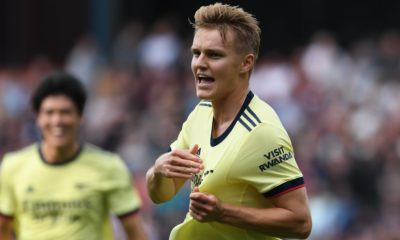 Mikel Arteta says Martin Odegaard can be leader in young Arsenal squad
