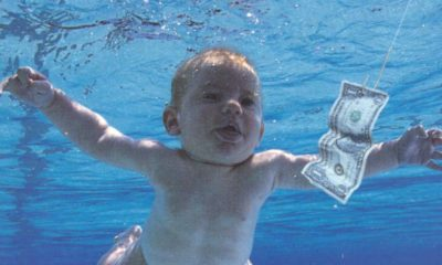 Nirvana Nevermind baby begs for 30th album cover to be censored
