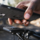 The Peak Design mobile Out Front bike mount.