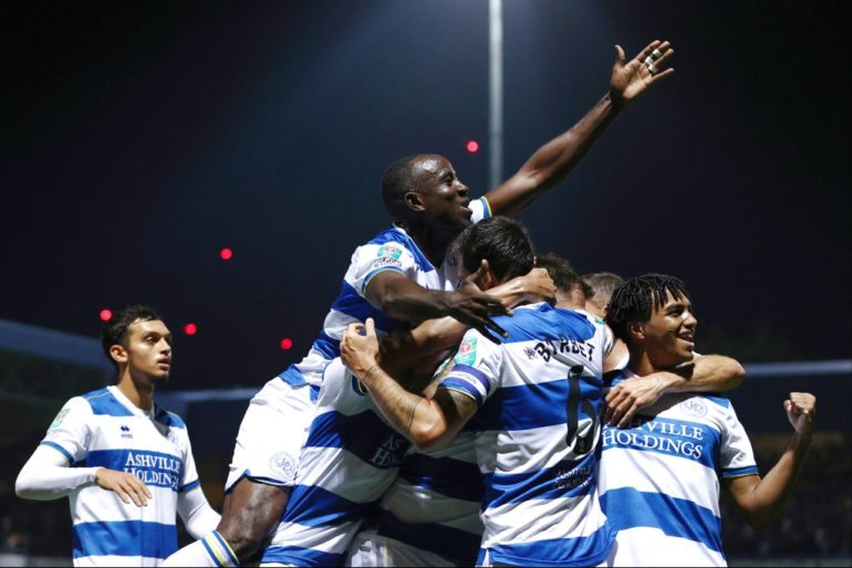 QPR knock top-flight Everton out of Carabao Cup with famous penalty shootout win