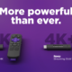 """Banner for the """"more powerful than ever"""" Roku Streaming Stick 4K and Streaming Stick 4K+"""