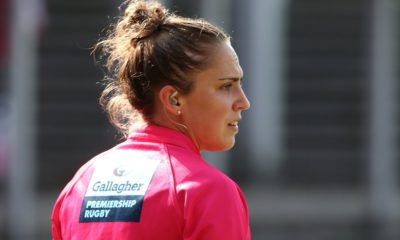 Sara Cox: Rugby referee to make history as first woman to take charge of Premiership match