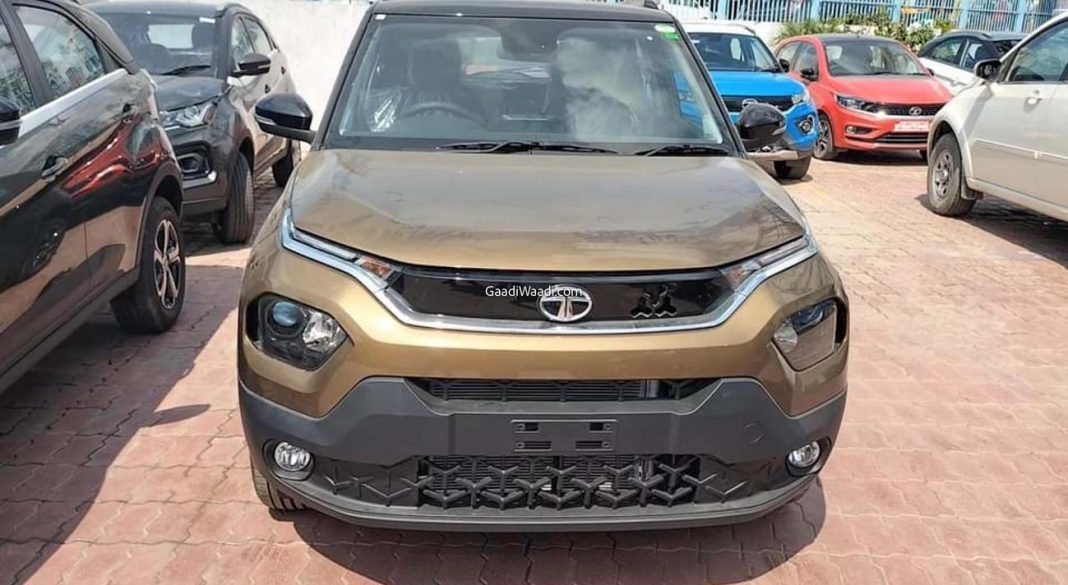 Tata Punch Spied