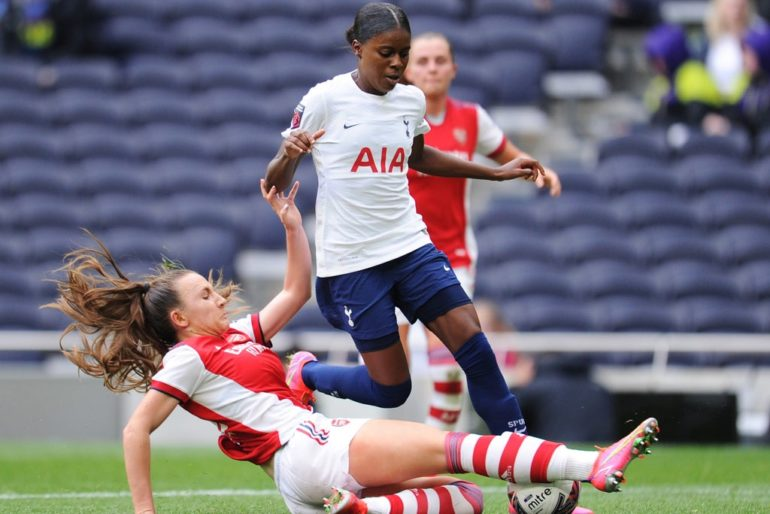 Tottenham face Arsenal in Women's FA Cup quarter-finals as 2020-21 competition resumes after four-month break