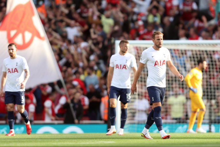 Tottenham player ratings vs Arsenal: Spurs collectively awful in dismal first-half derby display