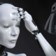 A dramatic android crying because it can't own patents and lacks basic human rights.