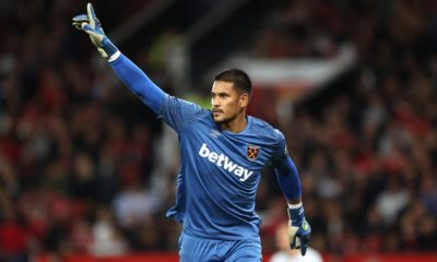West Ham goalkeeper Alphonse Areola says their win at Manchester United proves they can mix it with the best